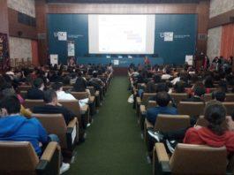 Celebración de Unistem na Facultade de Medicina da USC. Fonte: Twitter Unistem Santiago.