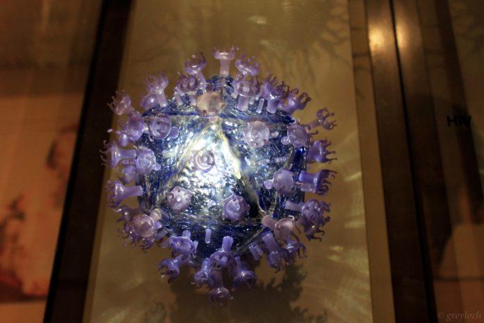 Representación do VIH. Fonte: Greyloch/CC BY-SA 2.0.
