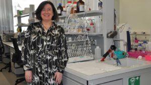 Mª Asunción Longo, profesora do Departamento de Enxeñaría Química e presidenta do comité organizador. Foto: DUVI