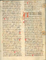 Fragmento do Livro da Montaria atopado en 2014 no Arquivo Provincial de Lugo. Fonte: Anabad Galicia.