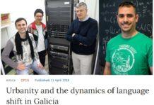 O traballo publicado a pasada semana supón a primeira aparición de Galicia nun título de Nature. Fonte: USC/Nature Communications.