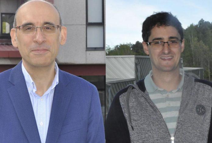 Fernando Pérez e Borja González, investigadores principales de Aidfork e RadioUAV, proxectos seleccionados polo plan Ignicia. Foto: Duvi.
