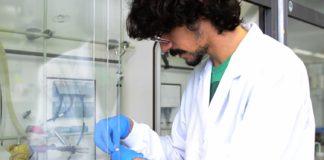 Jacobo Gómez é un dos doutorandos do CiQUS. Fonte: Íñigo Rolán Taboada.