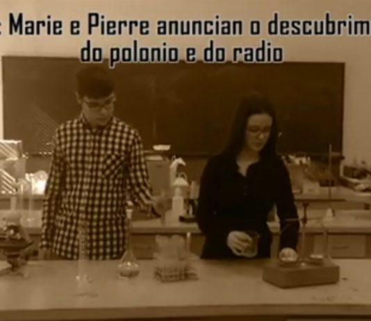 """Imaxe do vídeo do CPR Santiago Apóstolo de Narón, gañador do concurso """"O meu elemento""""."""