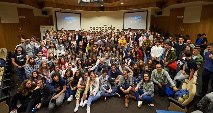 Foto de familia da Galiciencia 2019.