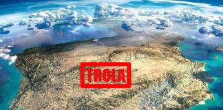 Unha imaxe impactante, pero non é real. A suposta foto da NASA é en realidade unha ilustración de Anton Balazh.
