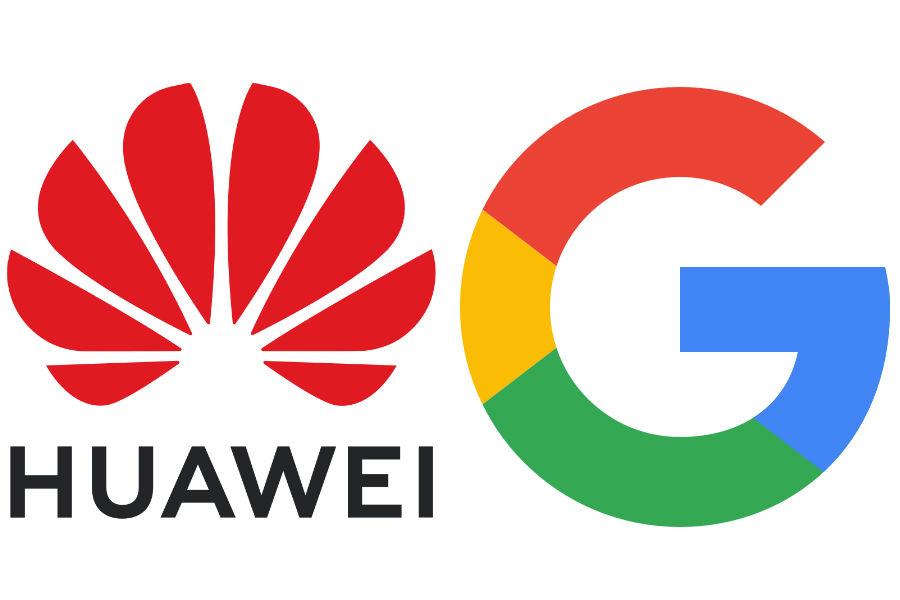 O conflito entre Google e Huawei podería comprometer o mercado da marcha chinesa.
