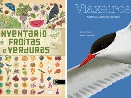 Portada dos dous novos libros de divulgación editados por Kalandraka.