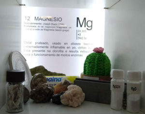 Detalle do cadro dedicado ao magnesio. Foto: UDC Big Bang.