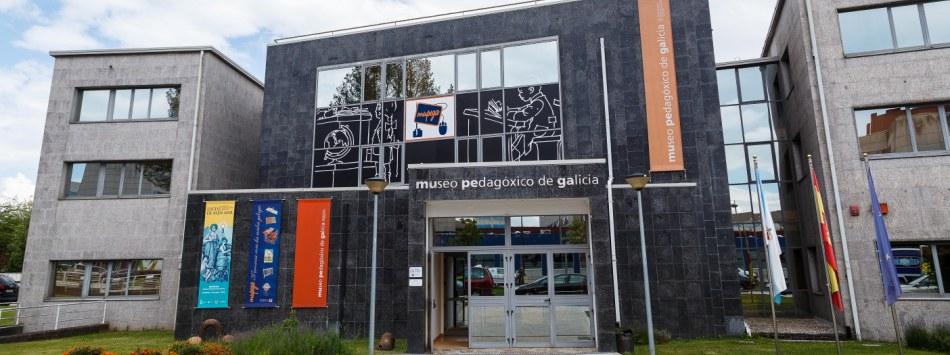 A entrada do museo. Fonte: Mupega.