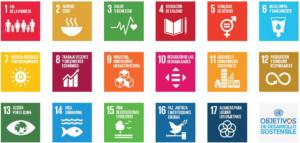 Todos os Obxectivos de Desarrollo Sostible (ODS). Fonte: ONU