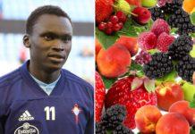 "Pione Sisto confesou que tivo que abandonar o ""Fruit Fast"". Foto: Harpagornis / CC BY SA 4.0."