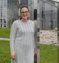 Sara Fernández Aguayo defendeu a súa tese na Facultade de Ciencias da Educación e do Deporte. Foto: Duvi.