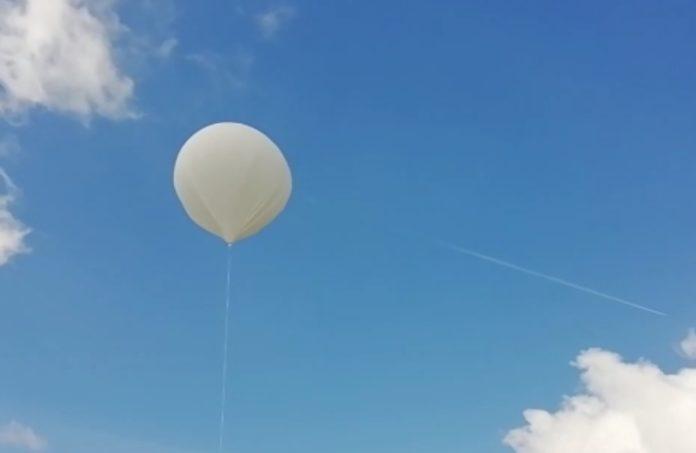 A sonda escolar Marumasat IV foi lanzada desde o IES Maruxa Mallo de Ordes.