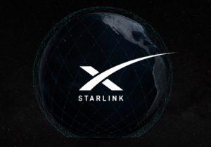 A rede de satélites Starlink estará formada por miles de satélites arredor do planeta. Fonte: starlink.com.