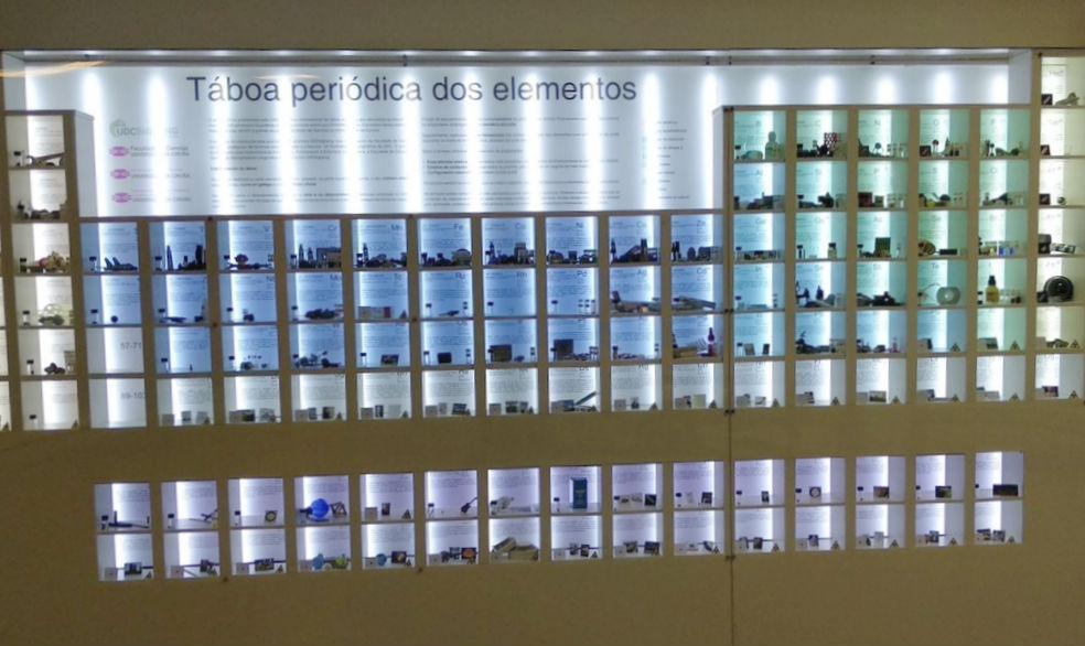 A táboa pode verse na Facultade de Ciencias da Universidade da Coruña. Foto: UDC Big Bang.
