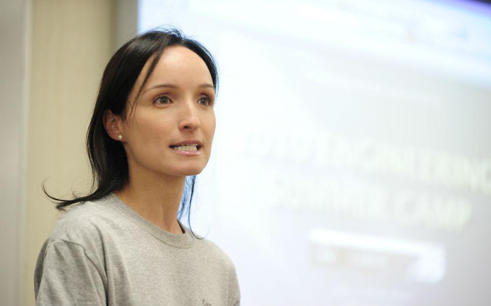 Mónica Fernández Bugallo. Foto: CPEIG.