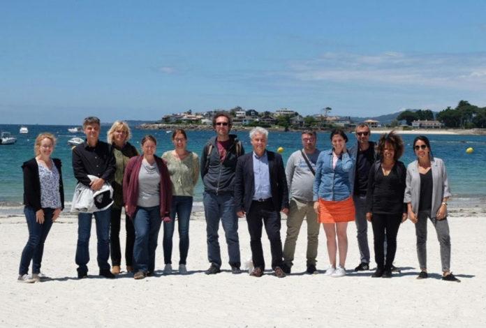 Os socios do proxecto reuníronse esta semana en Vigo. Foto: Duvi.