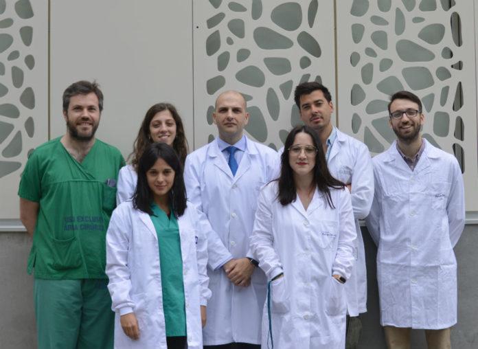 Grupo de Patoloxía Musculoesquelética do IDIS, dirixido por Rodolfo Gómez Bahamonde (no centro).