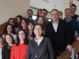 O proxecto conta entre os seus promotores co grupo I+D Farma da USC e á profesora Carmen Álvarez Lorenzo. Foto: USC.