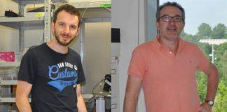 Os investigadores Diego Fernández e José Antonio Lamas. Fotos: Duvi.