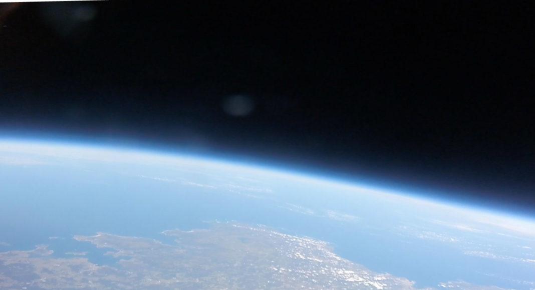 Vista desde 35.000 metros de altura de gran parte da costa e o noroeste de Galicia, recollida pola Marumasat IV. Fonte das imaxes: NOSA.