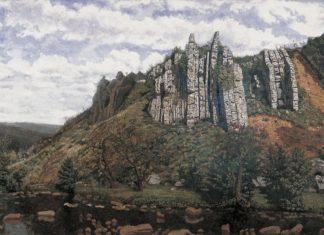 """Paisaje de Montaña"", obra de Agustín Riancho que o Museo del Prado intenta localizar."