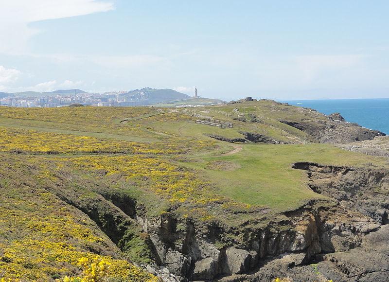 Vistas da Torre de Hércules. Fonte: Tanja Freibott