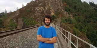 Xabier García é profesor na Universidade de Vigo e graduado en Matemáticas pola USC. Foto: Duvi.