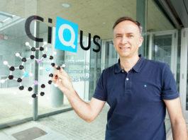 Diego Peña Gil, na sede do CiQUS. Foto: Andrés Ruiz / CiQUS.