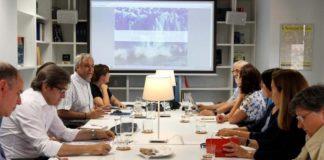 Español Urgente e a axencia EFE impulsan o grupo de traballo para abordar a crise temática desde a linguaxe e a escrita. Foto: Duvi.