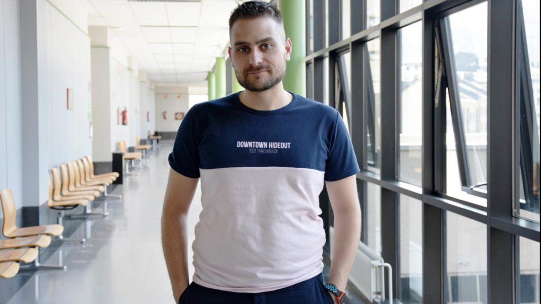 Martín Pérez, investigador do Grupo Sistemas Informáticos de Nova Xeración (Sing). Fonte: DUVI