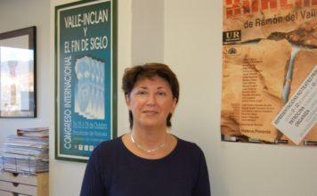 A profesora de Literatura Española Margarita Santos Zas foi unha das principais impulsoras do arquivo. Foto: USC.