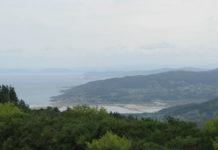 O Monte Neme ten unha ampla panorámica da parte norte da Costa da Morte e ata Cabo Prior. Foto: Plataforma pola Defensa do Monte Neme.