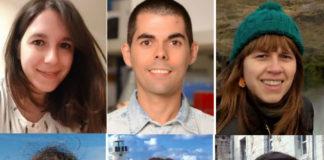 Susana, Hugo, Zulema, Ángela, Eva e Iván, seis dos máis de 30 investigadores afectados polos retrasos nos contratos da Xunta.