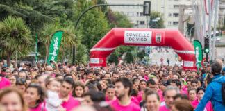 Máis de 5.000 perosas amosaron o ano pasado a súa solidariedade na carreira celebrada en Vigo. Foto: Vigo contra el Cáncer/Facebook.