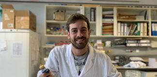 Cuñarro é investigador no grupo Diabesity do CiMUS. Foto: Carmen Barros.