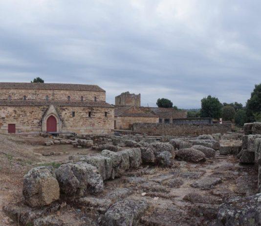 Imaxe do xacemento de Idanha-a-Velha, onde se localiza o baptisterio. Foto: Pedro Carvalho.