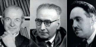 Linus Pauling, Tomás Batuecas e Louis de Broghlie.