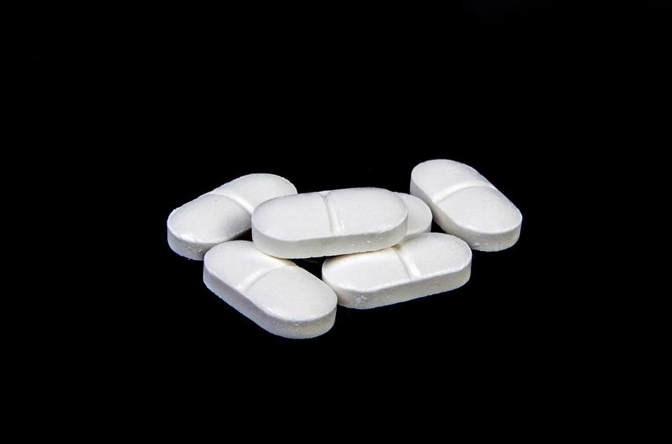 Cápsulas de paracetamol.