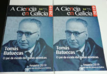 Portada do número 38 do Anuario da Ciencia en Galicia.