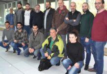 Unha das reunións anteriores do proxecto. Foto: Duvi.