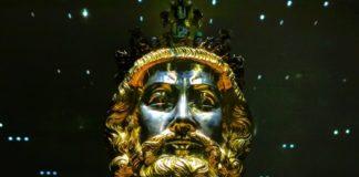 Busto de Carlomagno creado alrededor de 1350. Fonte: Moskwa.
