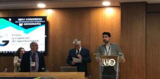 Daniel Cajade recibiu o premio a pasada semana en Valencia.