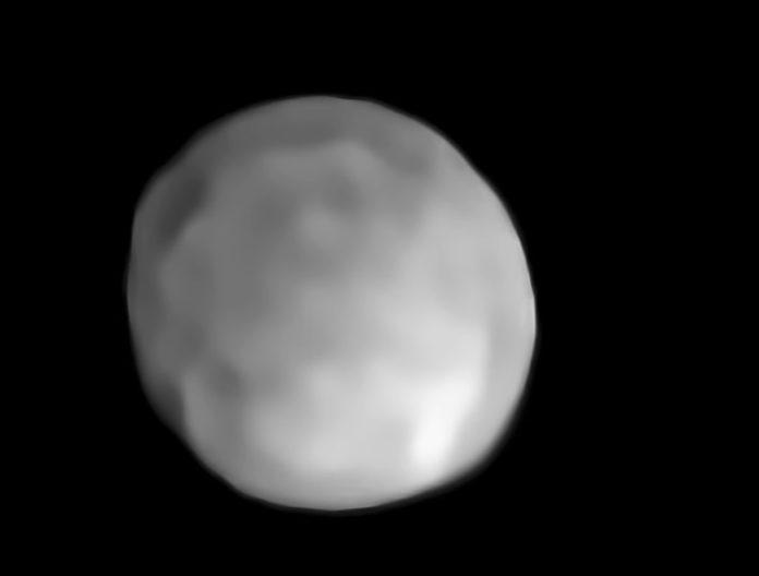 Imaxe de Hixía obtida polo Very Large Telescope. Fonte: ESO.