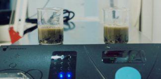 Análisis en los laboratorios. Fuente: Indrops/Agrobiotech.