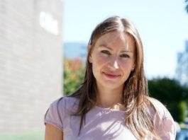 Matilde Durán é a primeira autora do artigo. Foto: Andrés Ruiz/CiMUS.