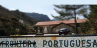 Fronteira entre Galicia e o territorio portugués na Portela do Homem, na serra do Xurés. Foto: R. Pan.