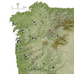 Análises carpolóxicas en xacementos do Bronce Final, Idade do Ferro e Período Romano no noroeste Ibérico. Fonte: Andrés Teira Brión.