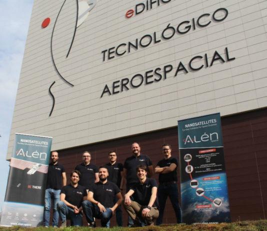Equipo de Alén Space. Foto: RAGC.